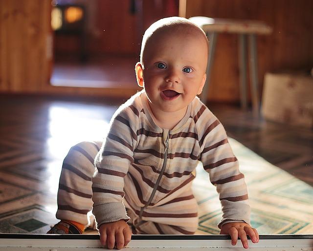 Cuándo-sonríen-los-bebés